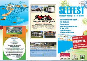 Flyer Seefest 2019